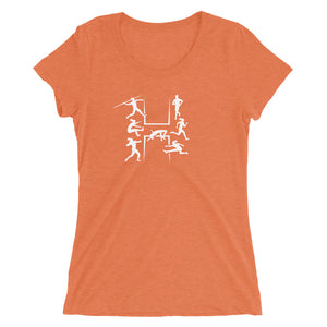 HEPTATHLON WOMEN'S T-SHIRT ORANGE