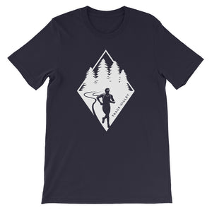 TRAIL RUNNING MEN'S T-SHIRT NAVY