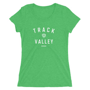 TRACK VALLEY VINTAGE WOMEN'S T-SHIRT GREEN