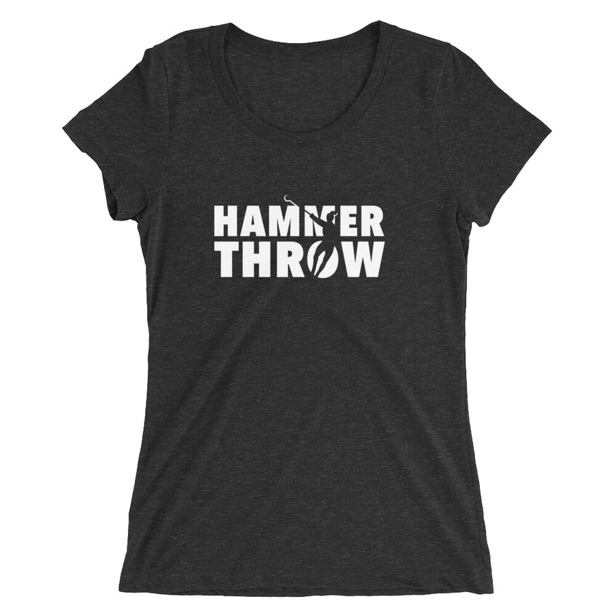 HAMMER THROW WOMEN'S T-SHIRT BLACK