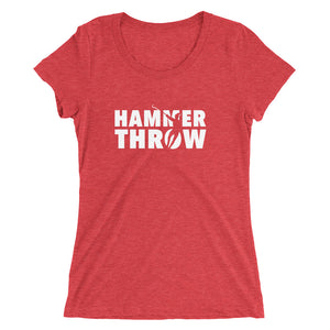 HAMMER THROW WOMEN'S T-SHIRT RED