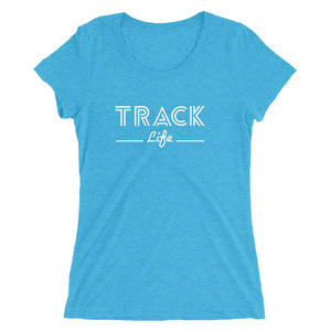 TRACK LIFE WOMEN'S T-SHIRT BLUE