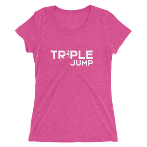 TRIPLE JUMP WOMEN'S T-SHIRT PINK