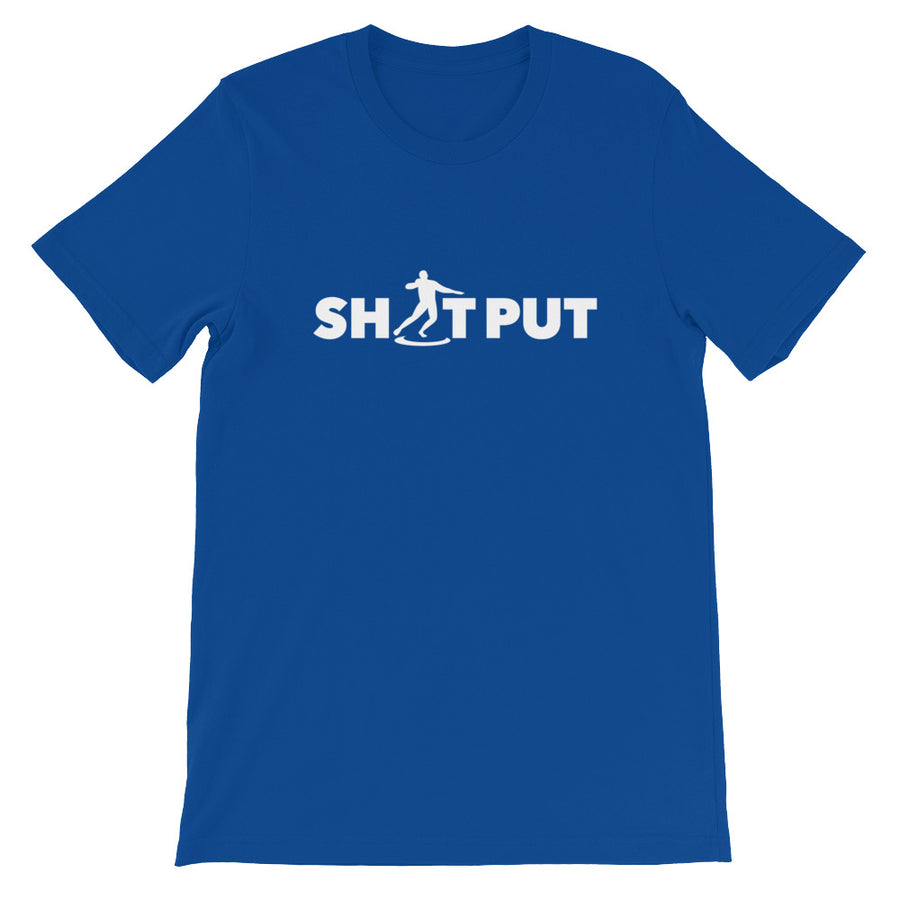 SHOT PUT MEN'S T-SHIRT BLUE