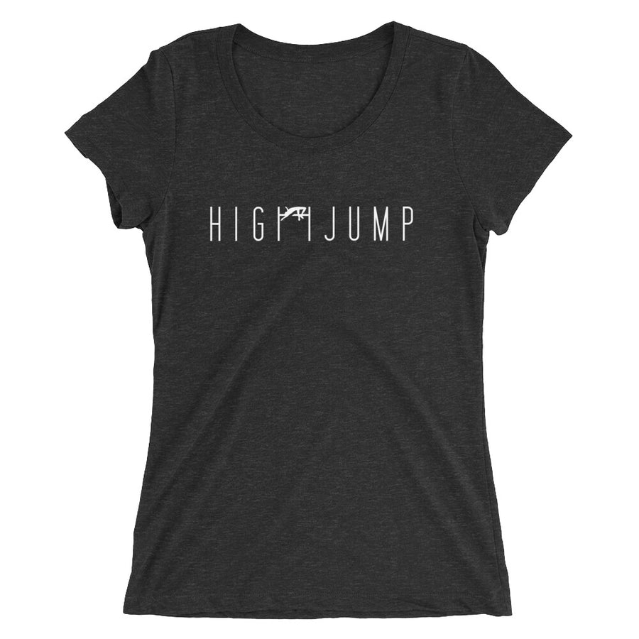HIGH JUMP WOMEN'S T-SHIRT BLACK