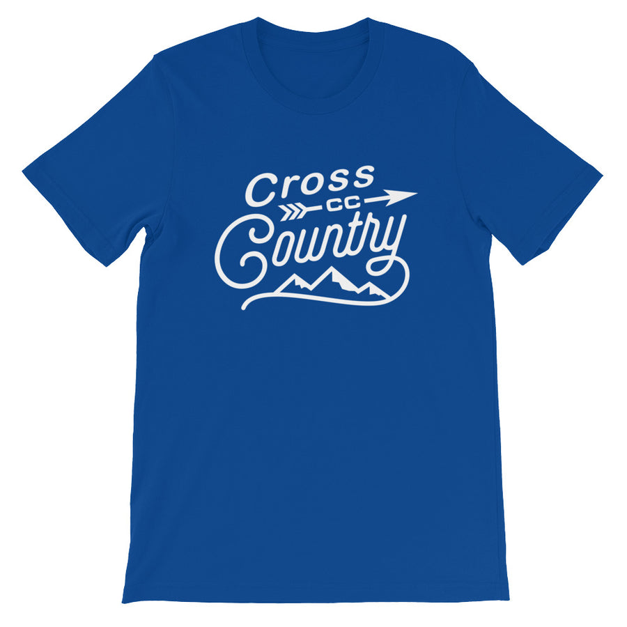 Cross Country Men's T-shirt  blue