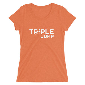 TRIPLE JUMP WOMEN'S T-SHIRT ORANGE