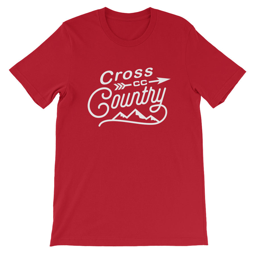 Cross Country Men's T-shirt red