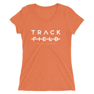 TRACK NOT FIELD WOMEN'S T-SHIRT ORANGE