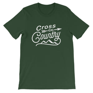 Cross Country Men's T-shirt green