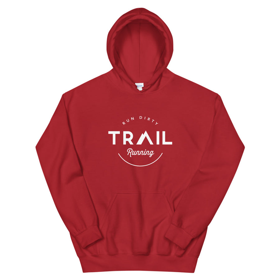 TRAIL RUNNING HOODIE RED