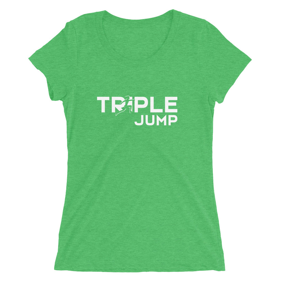TRIPLE JUMP WOMEN'S T-SHIRT GREEN