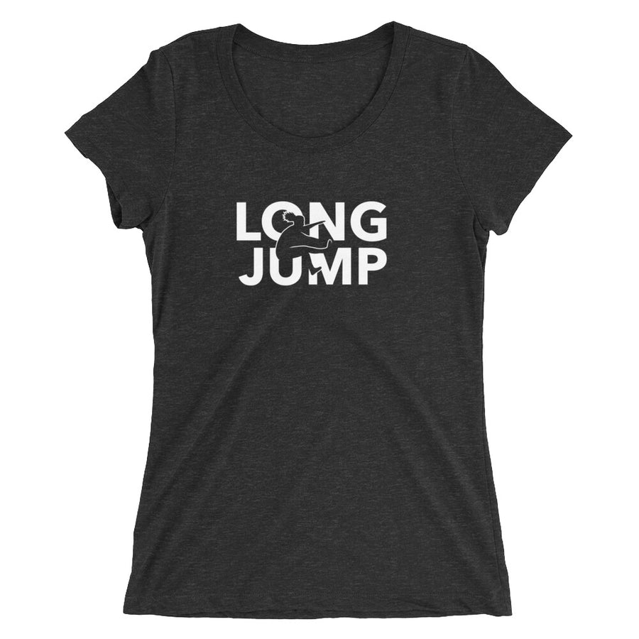 LONG JUMP WOMEN'S T-SHIRT BLACK