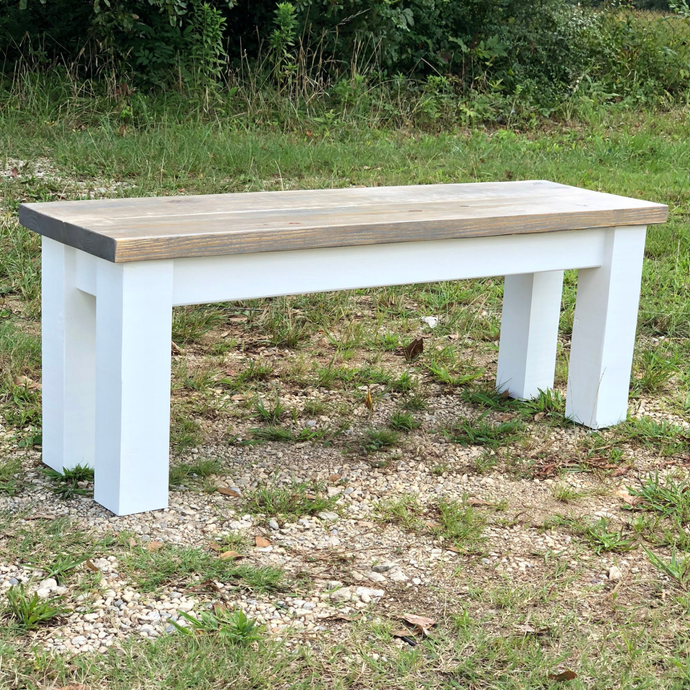Classic Farmhouse Bench - MadeByMiller