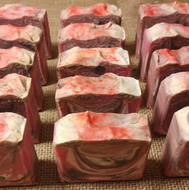 Blooms and Berries Cold Processed 4oz Bar Soap - MadeByMiller