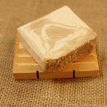 Load image into Gallery viewer, Milk and Honey Cold Processed 4oz Bar Soap - MadeByMiller