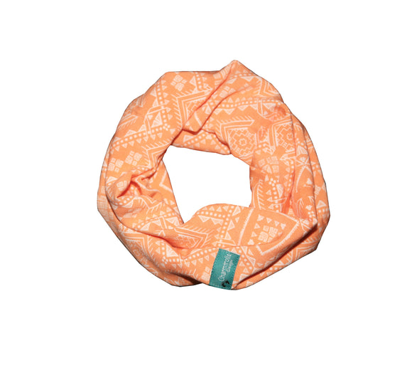 Peach Tube Scarf