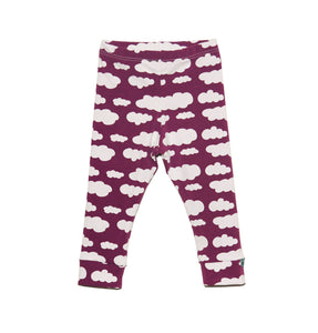 Purple Clouds Leggings