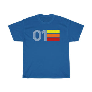 Retro Expo 2001 Unisex Heavy Cotton Tee