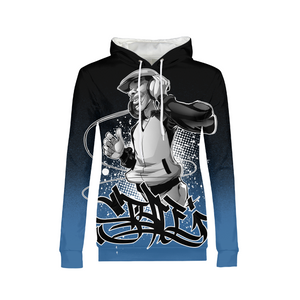 Hip Hop Vibes Womens All-Over Print Hoodie - Styleuniversal