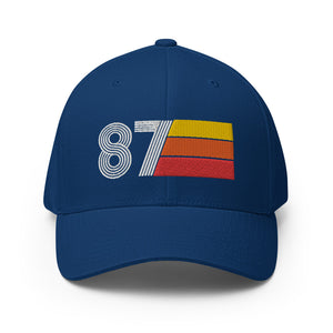 87 1987 fitted baseball cap
