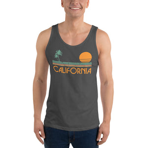 Retro California Unisex  Tank Top - Styleuniversal
