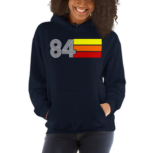 Retro Expo 1984 Men's Women's Unisex Hooded Sweatshirt