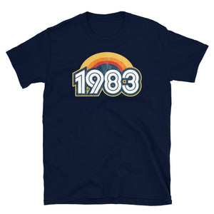 1983 Retro Horizon Short-Sleeve Unisex T-Shirt