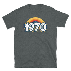 1970 Retro Horizon Short-Sleeve Unisex T-Shirt