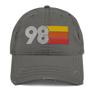 1998 Retro 98 Distressed Dad Hat