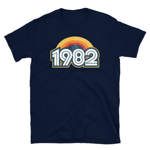 1982 Retro Horizon Short-Sleeve Unisex T-Shirt