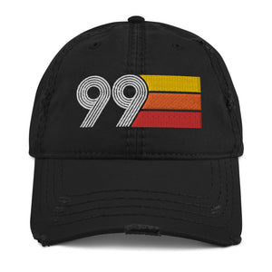 1999 Retro 99 Distressed Dad Hat