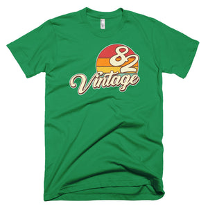 Vintage 1982 Retro Birthday Short-Sleeve T-Shirt - Styleuniversal