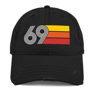 1969 Retro 69 Distressed Dad Hat