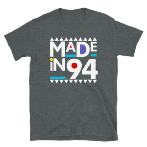 Made in 1994 Retro 90s Short-Sleeve Unisex T-Shirt
