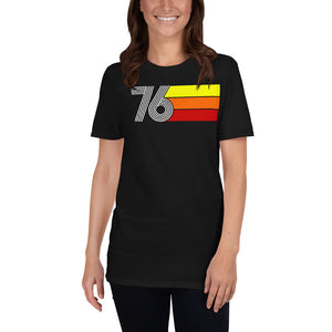RETRO EXPO 1976 MEN'S WOMEN'S Short-Sleeve Unisex T-Shirt