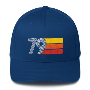 Retro 1979 Birthday Structured Twill Cap - Styleuniversal
