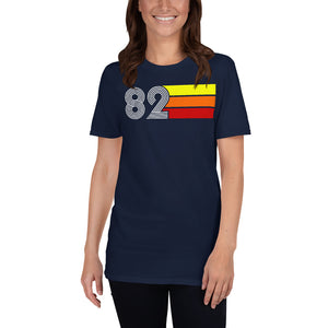 Retro Expo 1982 Men's Women's Short-Sleeve Unisex T-Shirt