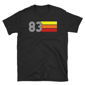 Retro Expo 1983 Men's Women's Short-Sleeve Unisex T-Shirt