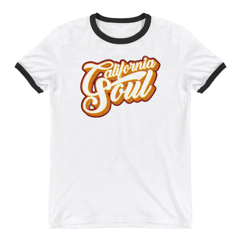 California Soul Retro Ringer T-Shirt