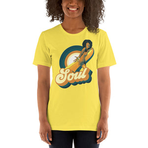 70's Soul Retro Short-Sleeve Men's and Women's T-Shirt - Styleuniversal