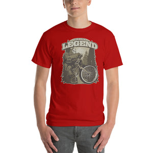Sasquatch Urban Legend Mountain Bike Short-Sleeve T-Shirt - Styleuniversal