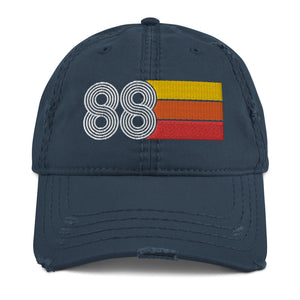 1988 Retro 88 Distressed Dad Hat