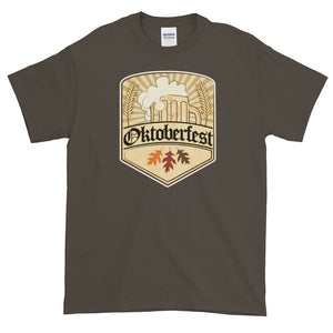 Oktoberfest Shield Short-Sleeve T-Shirt - Styleuniversal