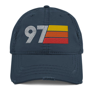 1997 Retro 97 Distressed Dad Hat