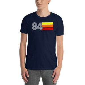 Retro Expo 1984 Men's Women's Short-Sleeve Unisex T-Shirt