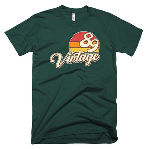 Vintage 1989 Retro Birthday Short-Sleeve T-Shirt - Styleuniversal