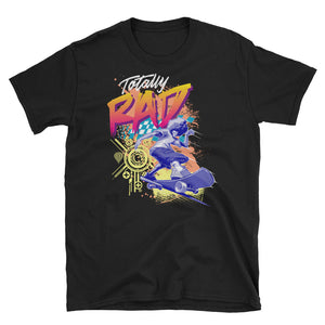 (WBB) Totally Rad Afro Skater Short-Sleeve Unisex T-Shirt - Styleuniversal
