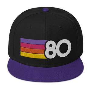 1980 Sunset Snapback Hat
