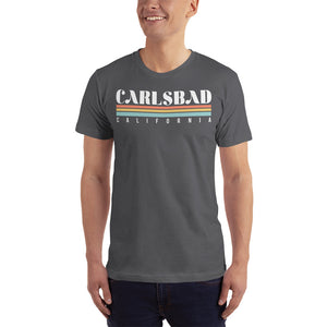 Carlsbad California Short-Sleeve T-Shirt - Styleuniversal
